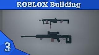 ROBLOX 'War Games' Weapon Building