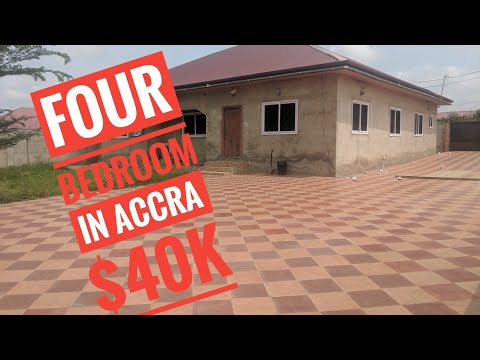 4 Bedroom House In Pokuase-Mayira, Accra For Sale Ll $40k