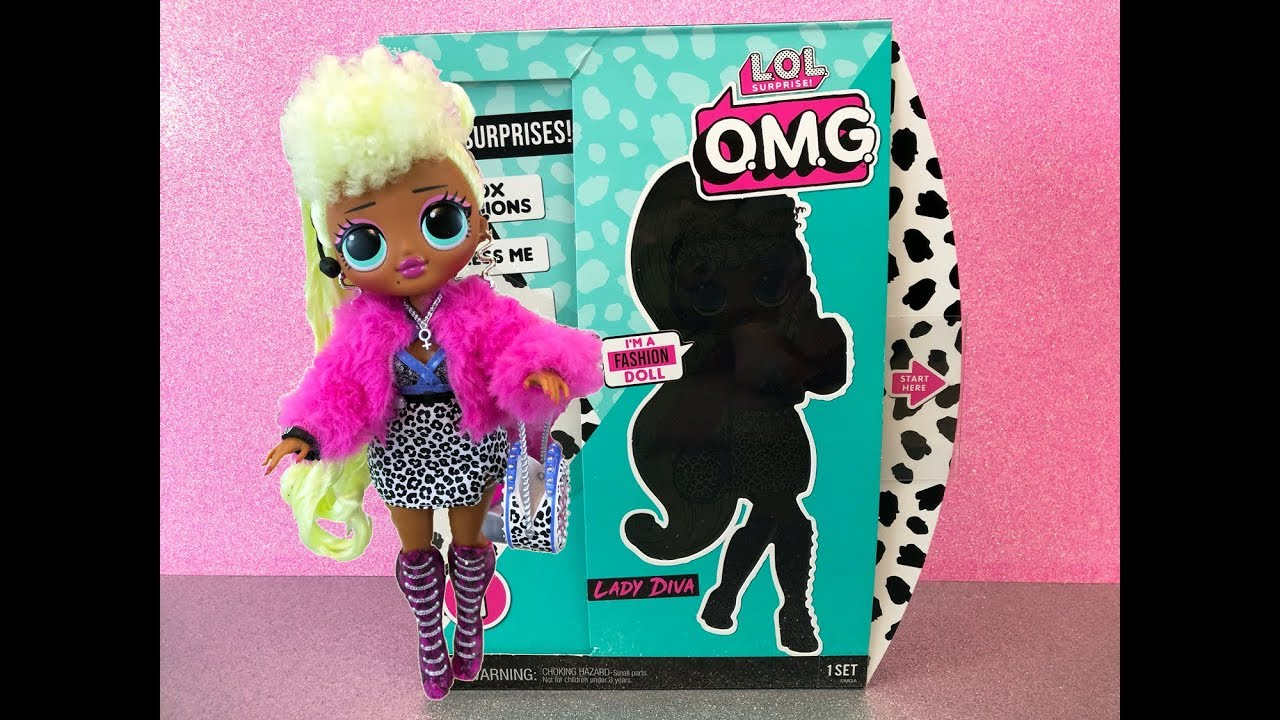 L.O.L Surprise O.M.G. Fashion Doll Series 1 - LADY DIVA ...