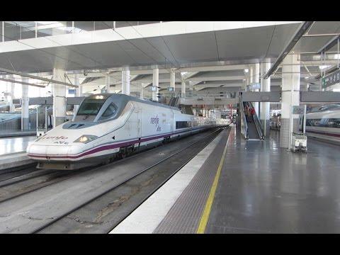 Spain High Speed Rail Barcelona to Madrid