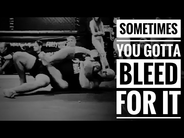 Sometimes You Gotta Bleed For It - Highlights from CoreMMA BJJ Competition