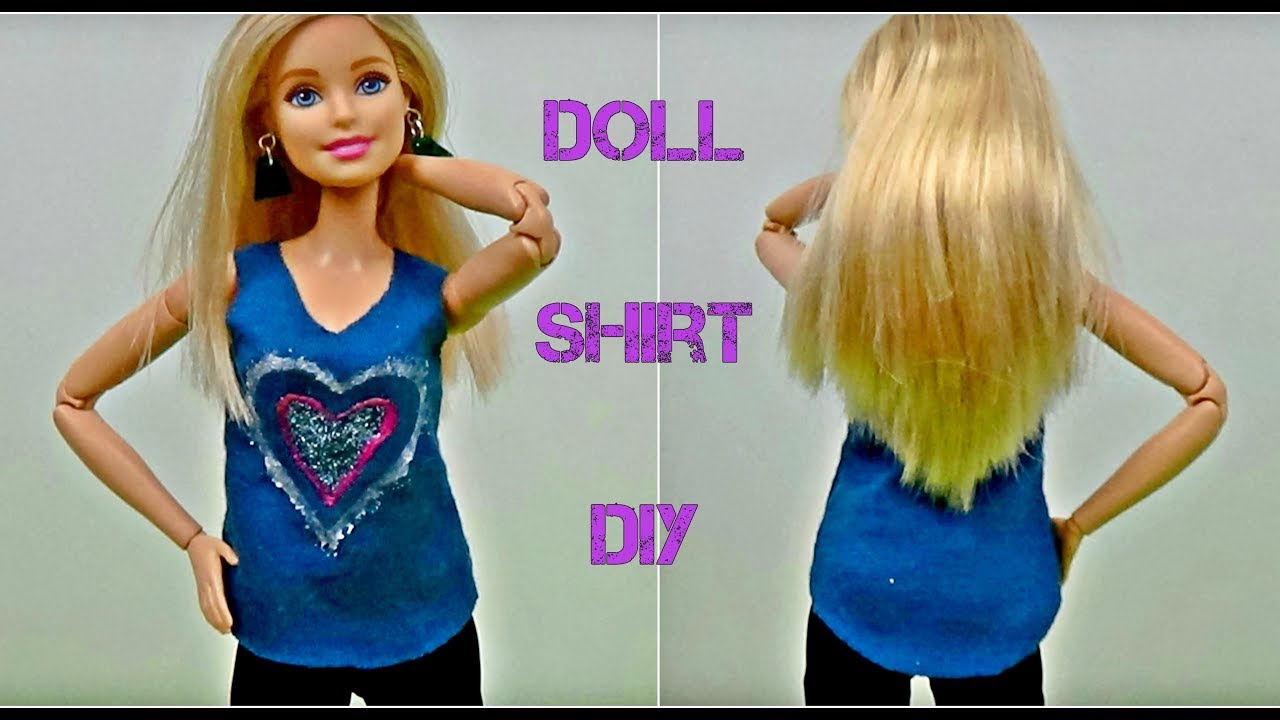 how to make barbie doll shirts