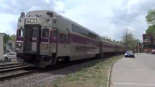 MBTX 2012 (HSP46) in Shirley - MBTA Commuter Rail