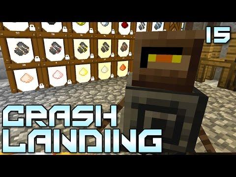 "Minecraft Crash Landing 15 - ""Better Homes & Dust Caves!!!"" (Modded Minecraft)"