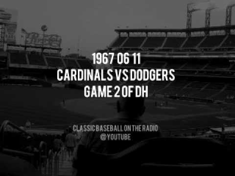 1967 06 11 St Louis Cardinals vs LA Dodgers Game 2 Of Doubleheader