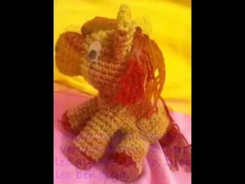 Amigurumis Caballitos A Crochet : Cómo tejer un pony amigurumi youtube
