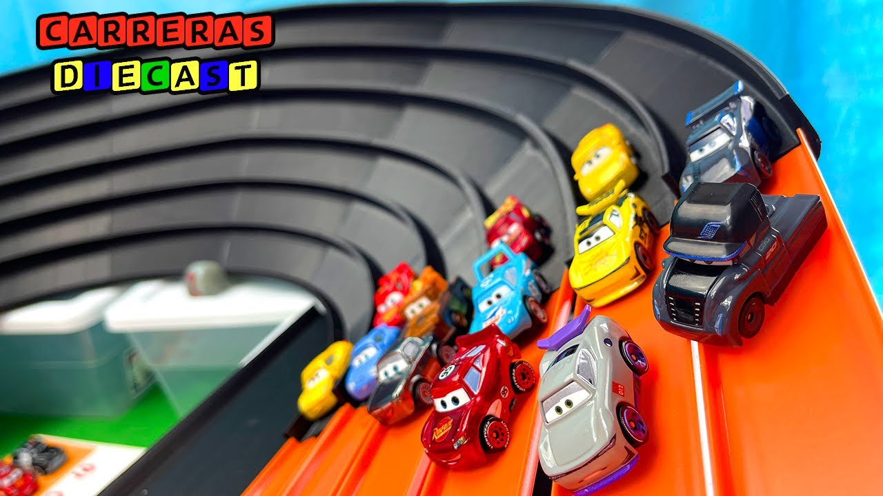 DISNEY CARS MINI RACERS SUPER TRACK CAMPEONATO segunda parte