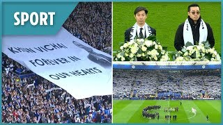 Leicester City pay tribute to late owner Vichai Srivaddhanaprabha