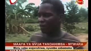 Mvua Yajeruhi na Kuboma Nyumba Mtwara