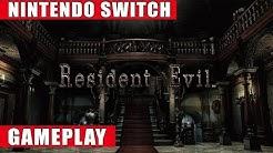Resident Evil Nintendo Switch Gameplay