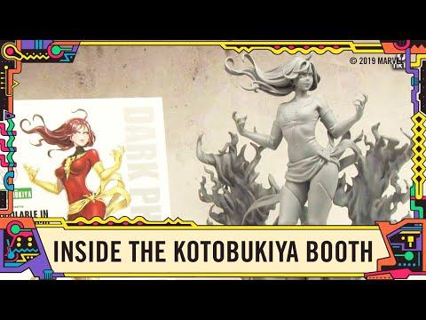 New Marvel statues at the Kotobukiya booth @ SDCC 2019!