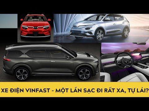 Ô tô điện VinFast VF31, VF32, VF33 - Đi rất xa với một lần sạc và tự lái thông minh?
