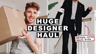 HUGE MENS DESIGNER CLOTHING HAUL + UNBOXING - Acne Studios, Margiela + MORE // Imdrewscott