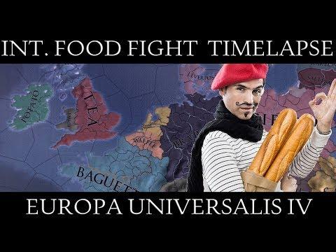 EU4 Timelapse: International Food Fight