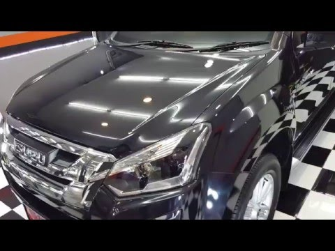 รีวิวเคลือบแก้วรถกระบะ Isuzu D-Max ราคาไม่แพง by RPM Car Wash