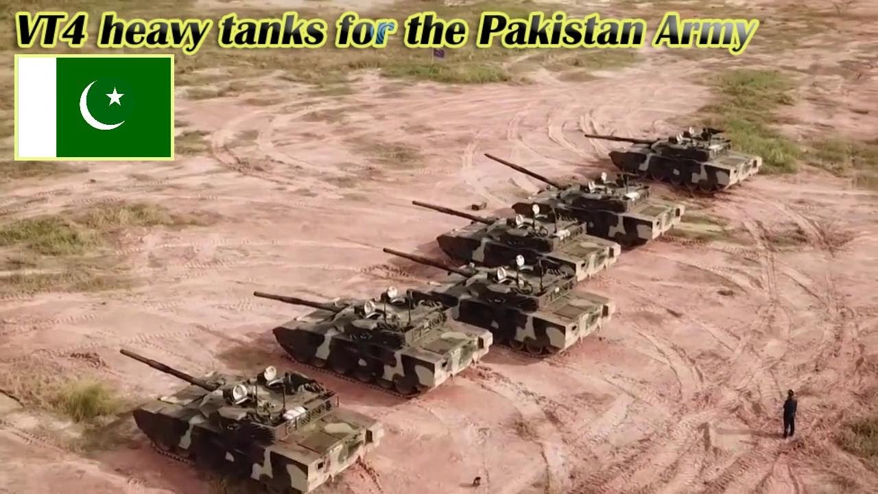 The first Chinese made VT4 heavy tanks for the Pakistan Army!