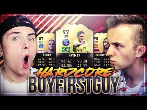 FIFA 17: HARDCORE Buy First Guy Challenge vs NoHandGaming 😱🔥