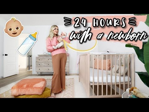 24 HOURS WITH A NEWBORN! | Aspyn Ovard