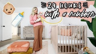 24 HOURS WITH A NEWBORN! | Aspyn Ovard