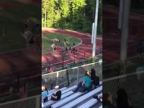 2:15 in 800m. Hunter middle school finals