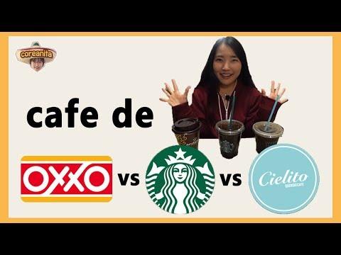 coreanita COMPARA CAFE de OXXO, de STARBUCKS, y de CIELITO │coreanita