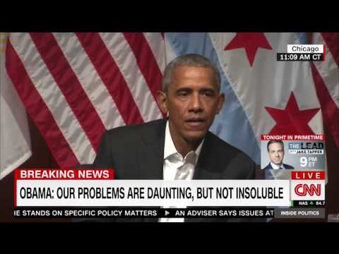 Obama on red states and blue states