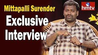 Lyricist & Singer Mittapalli Surender Exclusive Interview | Telangana Formation Day | hmtv