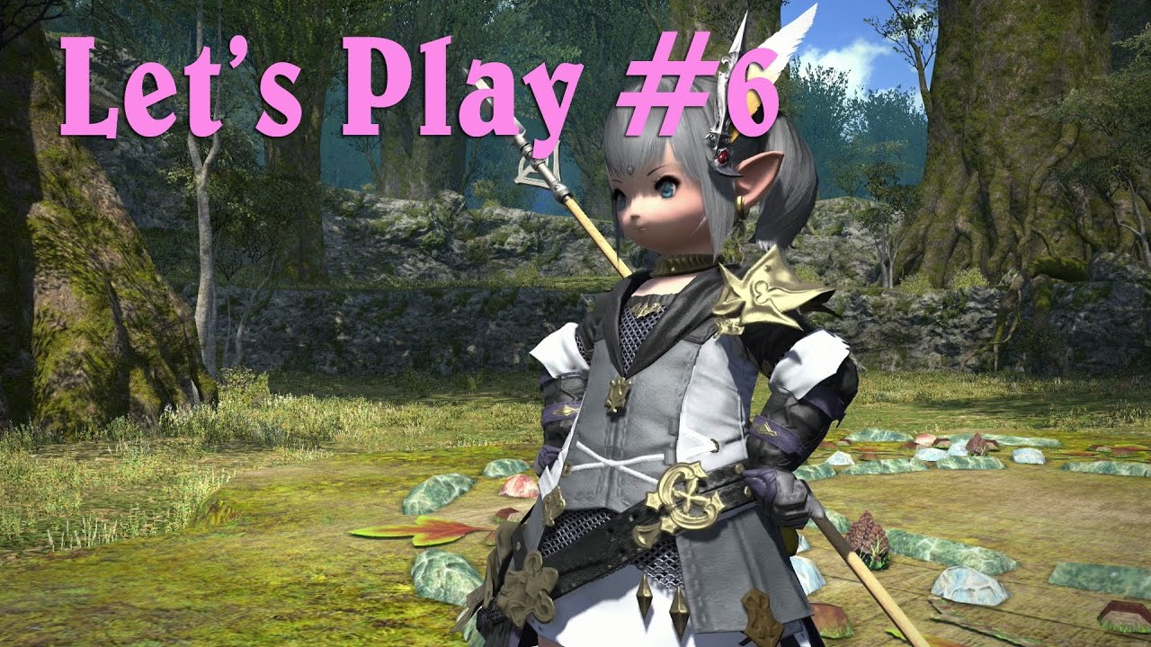 Final Fantasy XIV - Let's Play - 06 - Hall of the Novice and Level 15  Lancer Quest