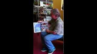"Adam reading ""Bud the Spud."" Surprise captured video!"