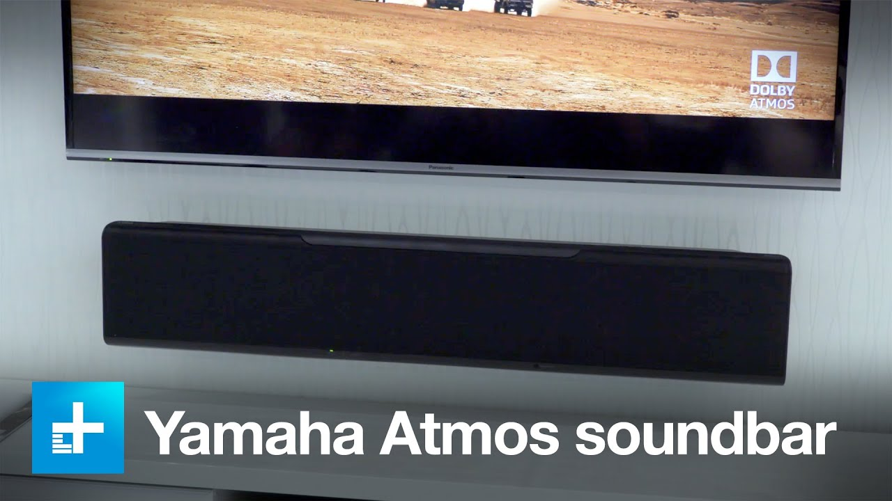 yamaha dolby atmos soundbar ysp 5600 hands on at ifa. Black Bedroom Furniture Sets. Home Design Ideas