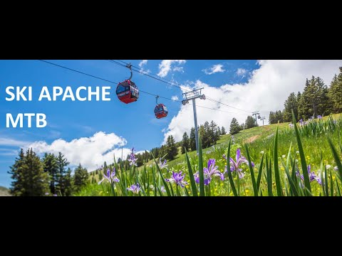 Ski Apache Downhill Mountain Bike - Ruidoso, New Mexico.