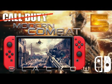 Le CALL OF DUTY de la NINTENDO SWITCH ? 🔥 | MODERN COMBAT BLACKOUT GAMEPLAY SOLO & MULTI !