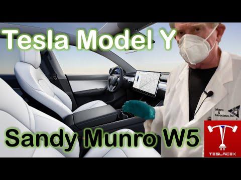 #174 Tesla Model Y Sandy Munro W5 | Teslacek