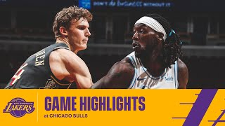 HIGHLIGHTS | Los Angeles Lakers vs Chicago Bulls