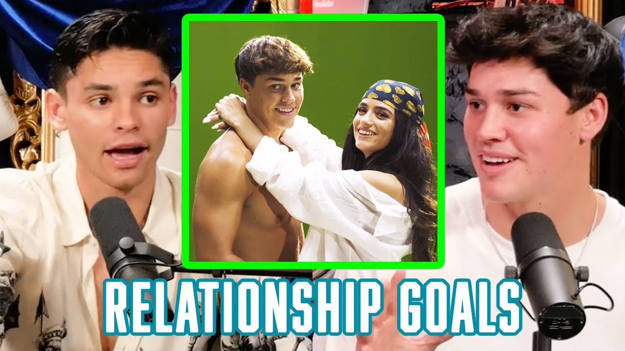 @Noah Beck on Dating @Dixie D'Amelio  and How They Make It Work | Fierce Talk With Ryan Garcia Clip