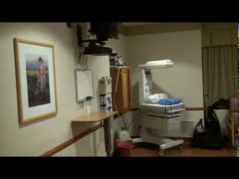 Labor and Delivery room at Alaska Regional Hospital