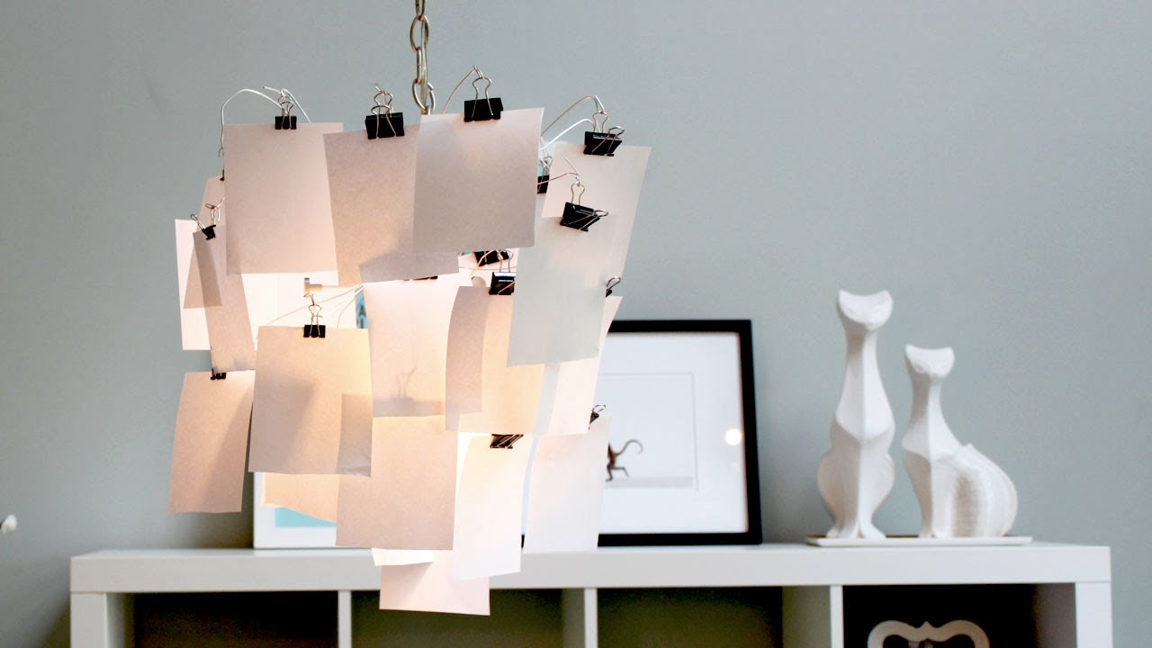 HomeMade Modern, Episode 4    DIY Photo Lamp Shade   YouTube