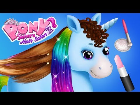 Fun Animal Horse Care  - Pet Animal Pony Hair Salon Dress Up Makeover App For Kids