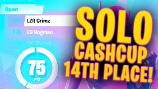 75 POINTS IN A SOLO CASH CUP | 14th Place Solo Cash Cup Highlights