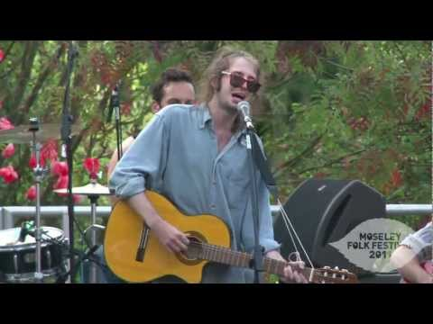 Crystal Fighters - Champion Sound - Live Video - Moseley Folk 2011