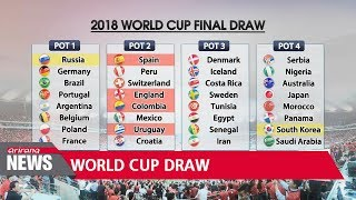 2018 World Cup draw to take place in Moscow on Friday