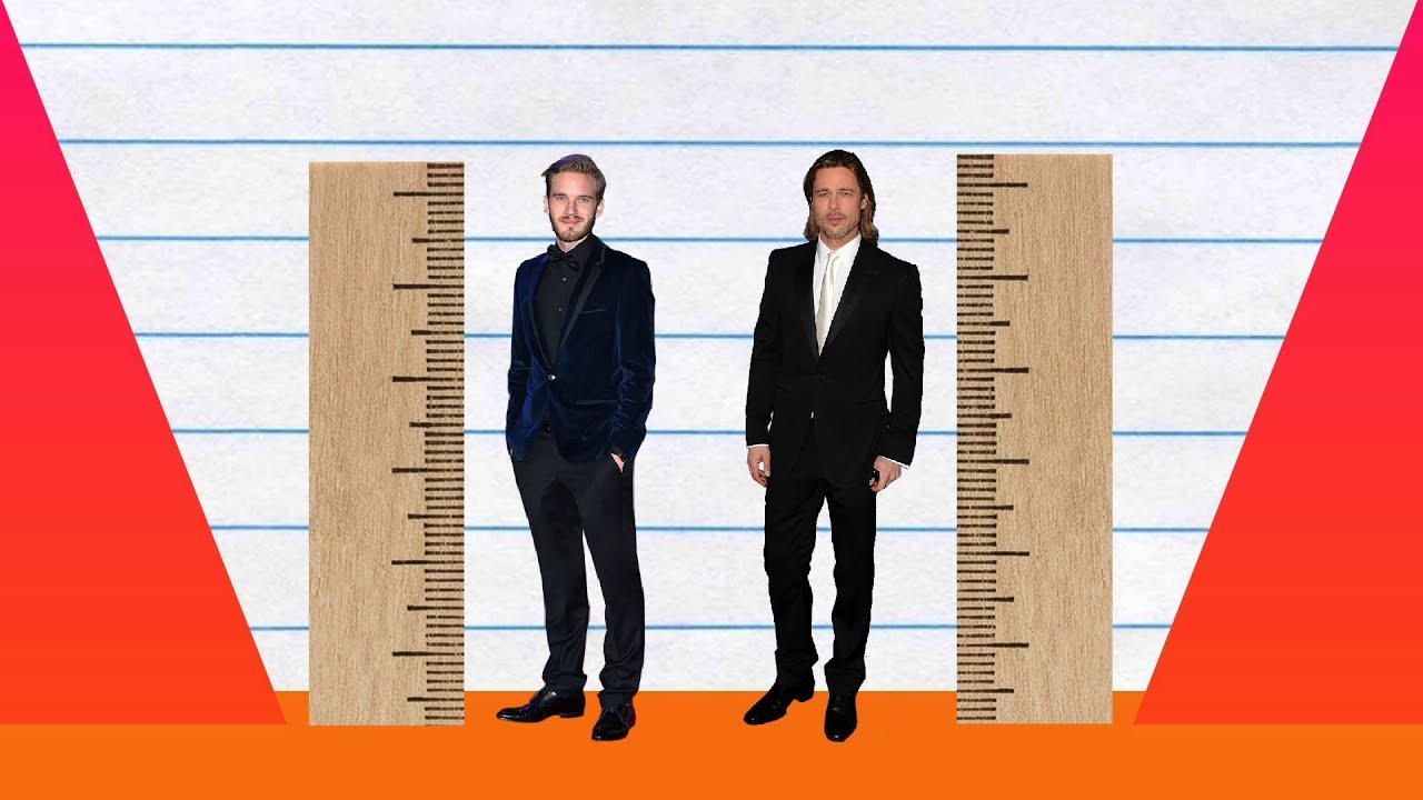 How tall is pewdiepie
