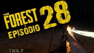 THE FOREST #28 - Stick bomb, cabeça explosiva e flechas de fogo!!