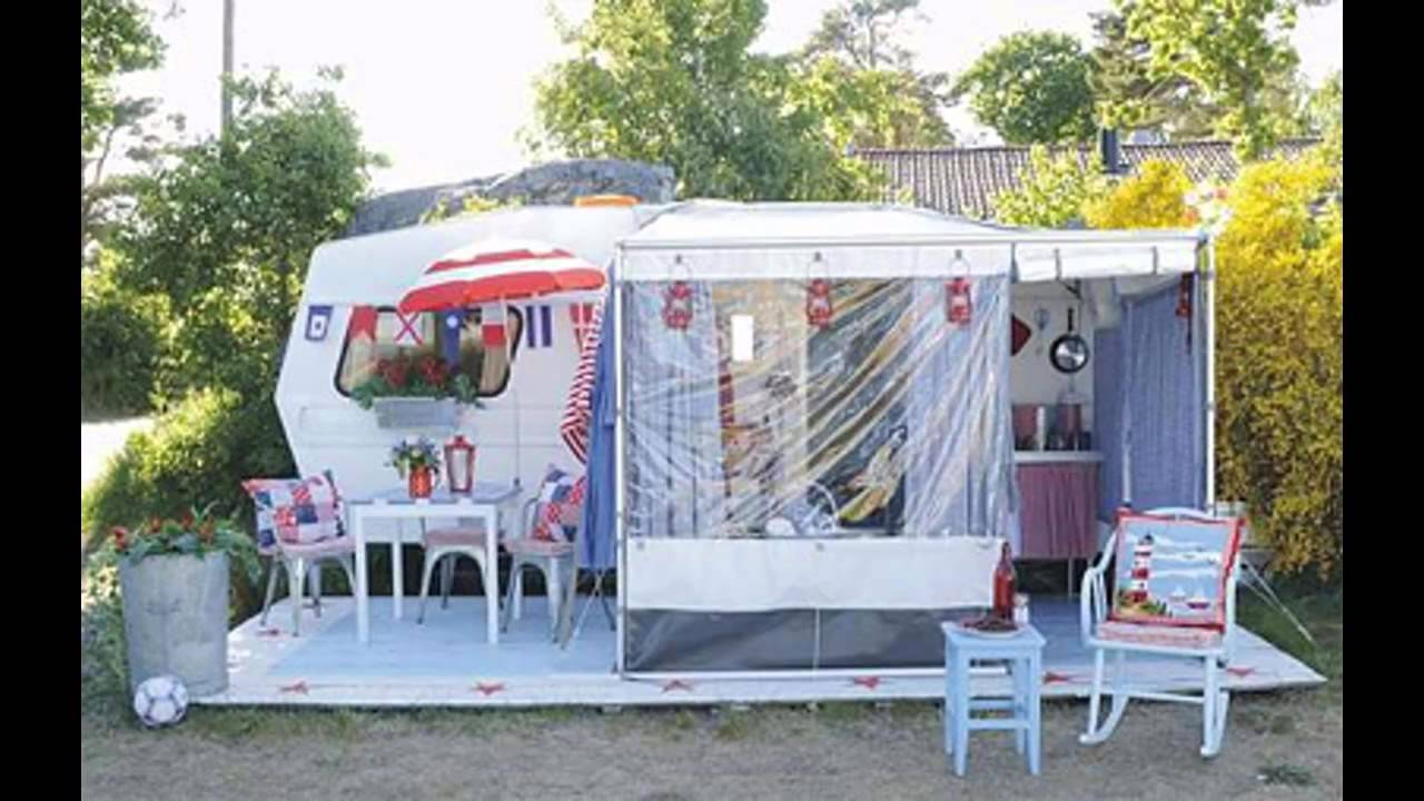 Easy camper decorating ideas youtube Travel trailer decorating ideas