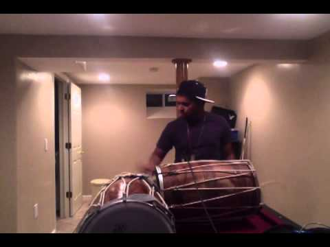 Ride It (Hindi) by Jay Sean - Dhol Cover Part 3