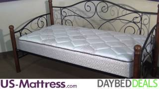 Fashion Bed Group Doral Daybed With Free Mattress