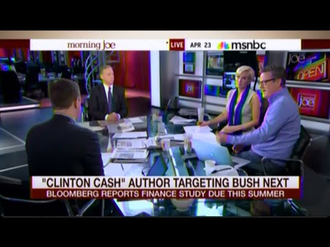 • Morning Joe Torpedoes Hillary Clinton Defender Howard Dean • Clinton Cash • 4/2315 •