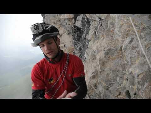 Roger Schäli an der Eiger Nordwand  die unmögliche Route