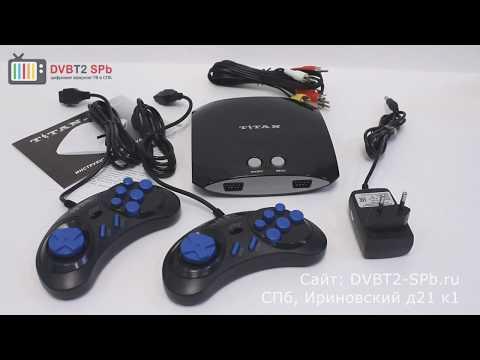 Titan 500 - игровая приставка Sega + Dendy