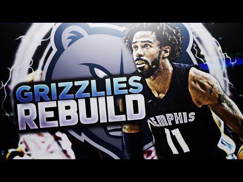 BIG 4 IN MEMPHIS!! GRIZZLIES REBUILD! NBA 2K18